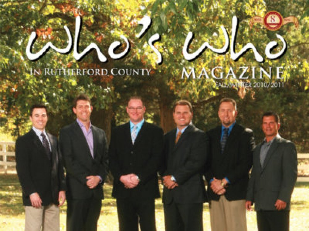 Breakaway Graphics - Art Direction - Who's Who Rutherford County
