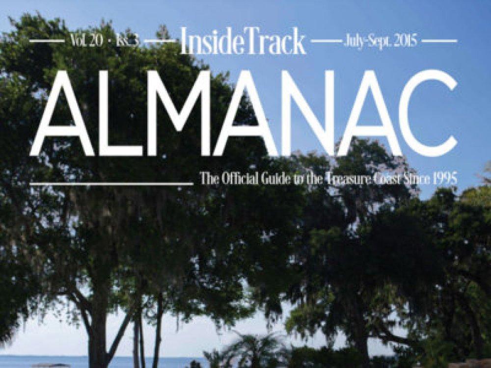 Breakaway Graphics - Art Direction - InsideTrack Almanac Volume 20-Issue 3