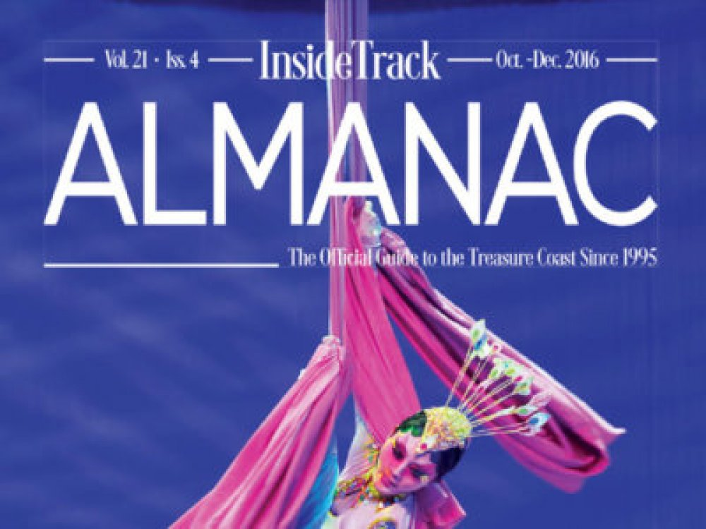 Breakaway Graphics - Art Direction - InsideTrack Almanac Volume 21-Issue 4